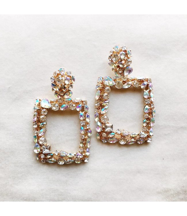 Victoria Crystal Earrings