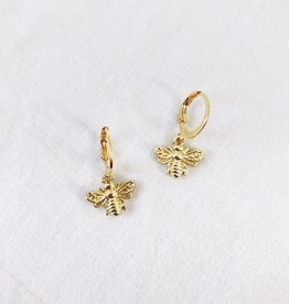 Gold Beelieve Earrings