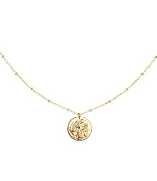 Gold Sign Of The Zodiac Necklace