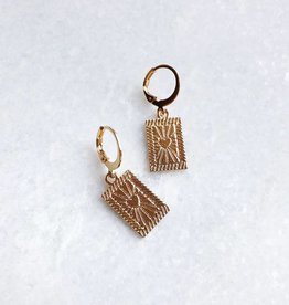 Gold Heartbreaker Earrings