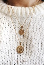 Gold Delicate Initial Necklace