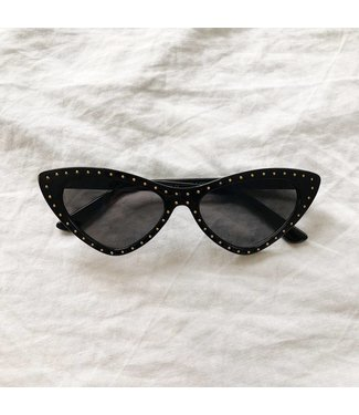 Kaia Cateye Sunglasses / Black