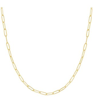 Gold Dainty Chain Necklace