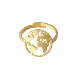 Gold The Traveller Ring