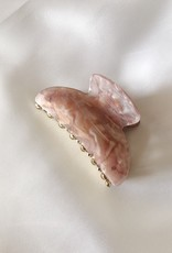 Pastel Marble Hair Claw