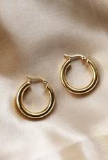 Gold Zara Hoop Earrings