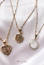Gold Loua Pearl Necklace