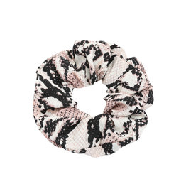 Cara Snake Scrunchie / Brown
