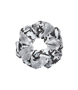 Cara Snake Scrunchie / Grey