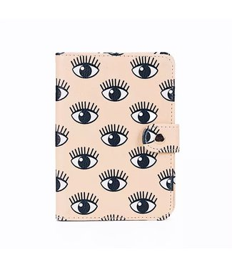 Beige Eyes Passport Cover