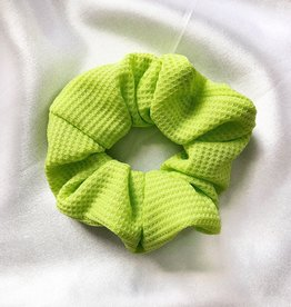 Cara Neon Scrunchie / Green