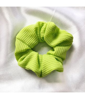 Cara Neon Scrunchie / Green