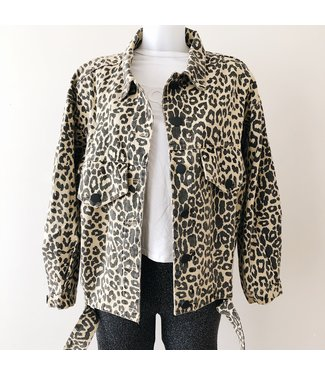 Ginger Printed Leopard Jacket