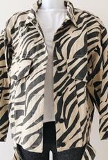 PRE- ORDER / Sienna Printed Zebra Jacket