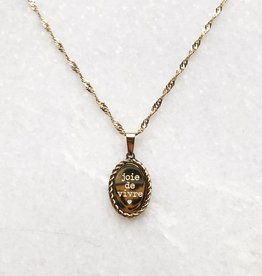 Gold Joie De Vivre Necklace
