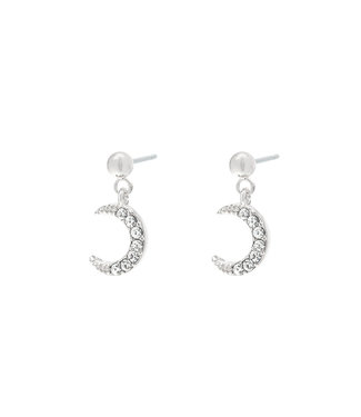 Silver Moonlight Earrings