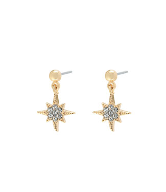 Gold Starry Night Earrings