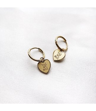 Gold Toi Et Moi Earrings