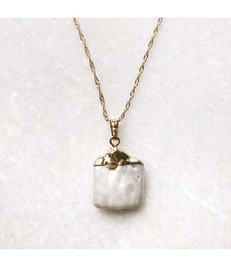 Gold Bayou Pearl Necklace