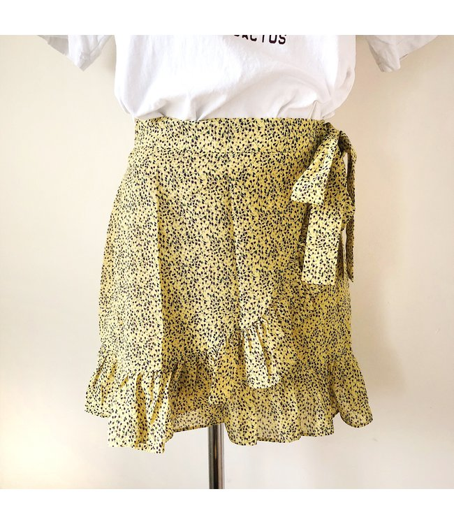 Lilith Flower Skirt / Yellow