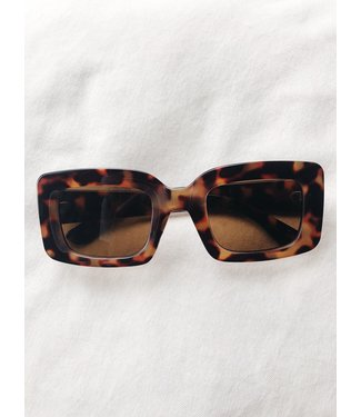 Isabel Oversized Sunglasses / Brown