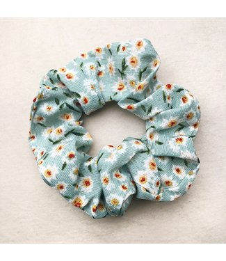 Cara Flower Scrunchie / Mint