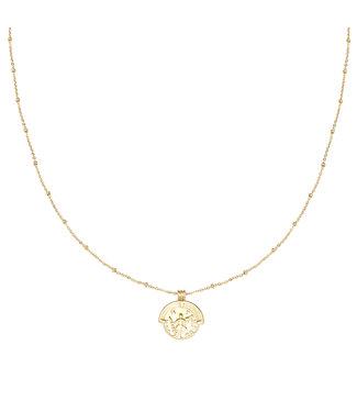 Gold Estee Coin Necklace