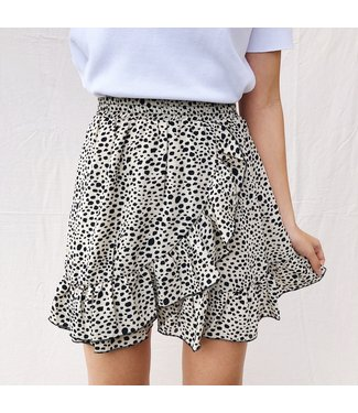 Joy Dots Skirt / Beige