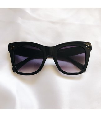 Monica Oversized Sunglasses / Black