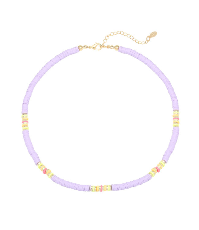 Laguna Surf Necklace / Lilac