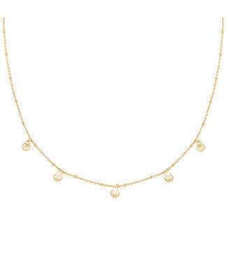Gold Talisa Shell Necklace