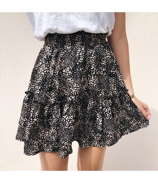 Dawn Dots Skirt / Black