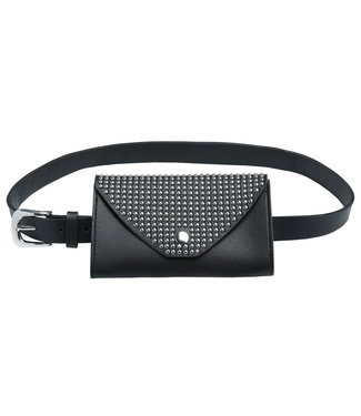 Joya Studs Belt Bag / Black