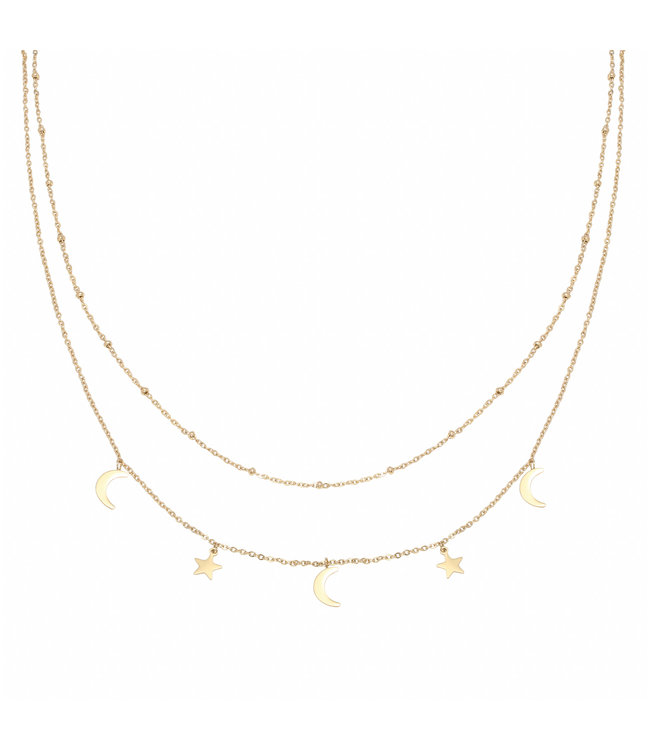 Gold Beyond The Stars Necklace