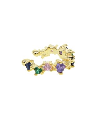 Gold Dream In Color Earcuff
