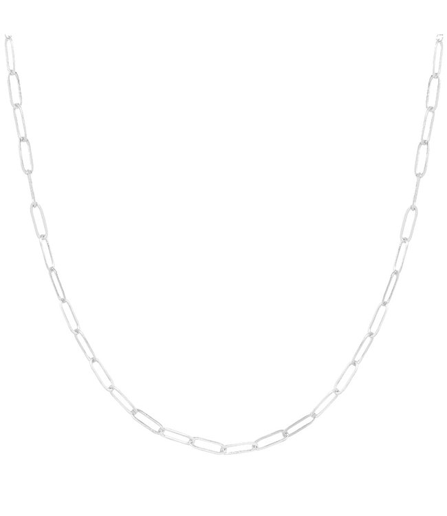 Silver Dainty Chain Necklace