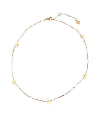 Gold Little Stars Necklace