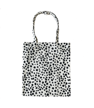 Cheetah Canvas Bag / Off white
