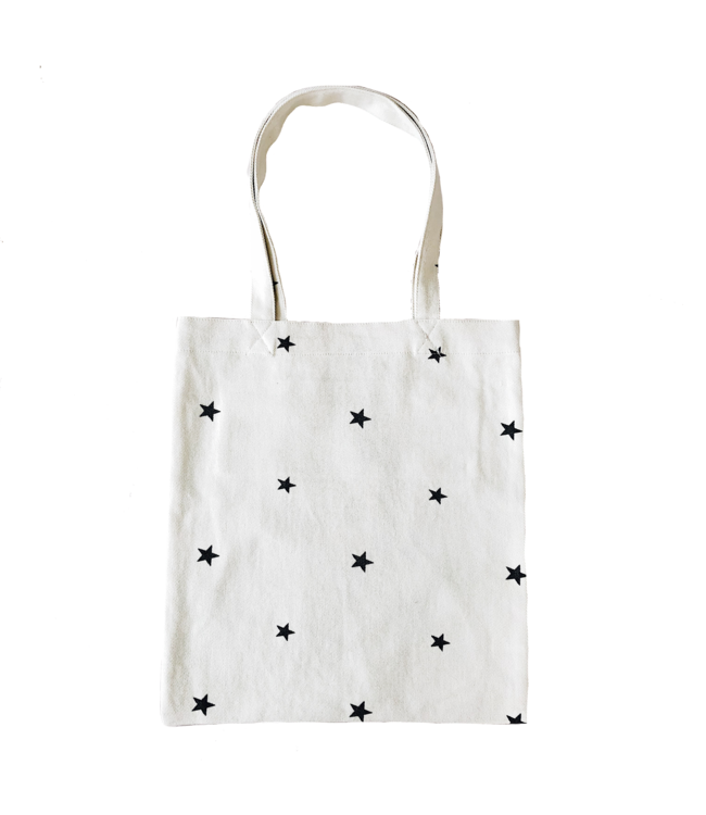 Star Canvas Bag / Off white