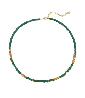 Suri Beads Necklace / Green