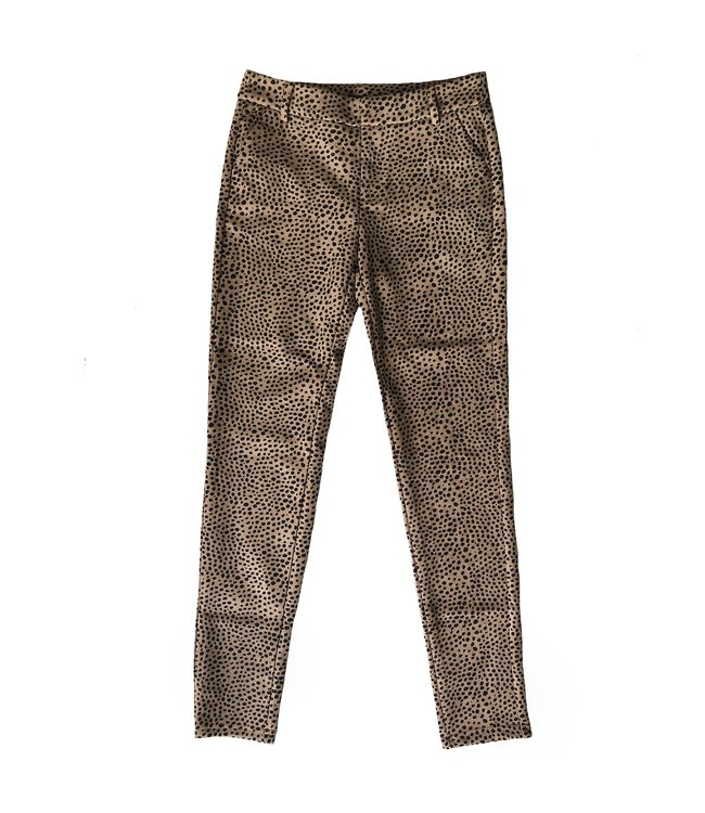 Lizzi Soft Cheetah Trousers