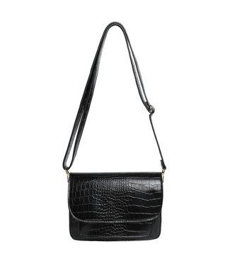 Sage Croco Bag / Black