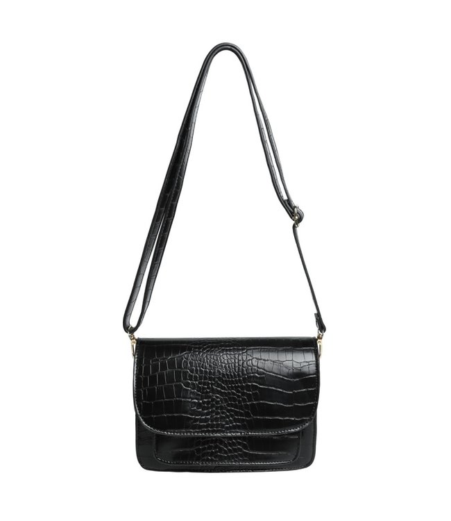 Sage Croco Bag / Black