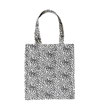 Dots Canvas Bag / Off white