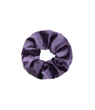 Cara Velvet Scrunchie / Purple