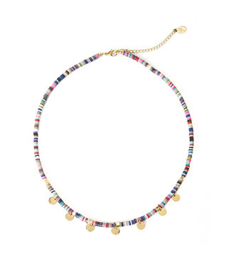Maris Surf Necklace / Rainbow