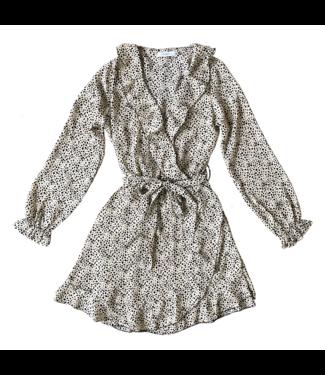 Naomi Cheetah Dress  / Beige