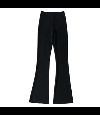 Glitter Angel Flared Trousers / Black