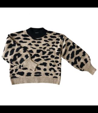 Jules Leopard Knit Sweater