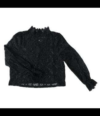 Gisele Lace Top / Black